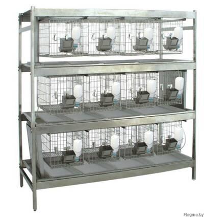 Клетки для лабораторных животных (кролики, м. свинки, мыши)