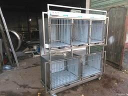 Клетки для животных из нержавеющей стали