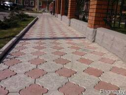 Клевер , плитка тротуарная