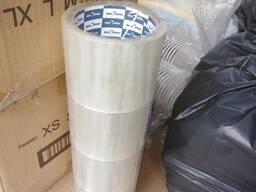 Клейкая лента ( 48ммх66мх40мкм; прозрачный и коричневый