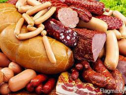 Колбаса, сосиски, рулеты.
