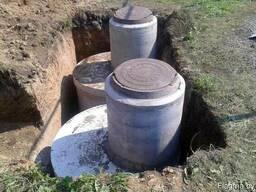 Кольца бетонные доставка монтаж. г. Столбцы - фото 3