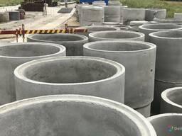 Кольца бетонные канализационные.