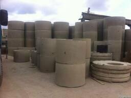 Кольца бетонные, крышки, люки, трубы, монтаж под канализация