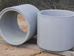 Кольца для колодцев и канализаций, крышки, днища