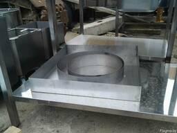 Кольца, формы кондитерские из нержавеющей стали, раздвижные