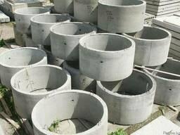 Кольца канализационные, крышки, днища