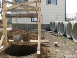 Колодцем. канализации, траншеи, дренаж, и др земляные работы