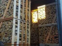 Колотые дрова, береза