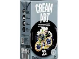 Комбинированные сливки Creamart 33% для взбивания и кулинарии