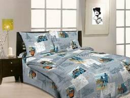 Комплект постельного белья 1,5-сп (полуторный) из бязи