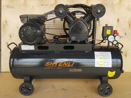 Компрессор Shtenli 80-2 pro (80 л. 2,5 кВт. 2 цилиндра )