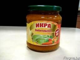Консервация плодоовощная белорусского производства