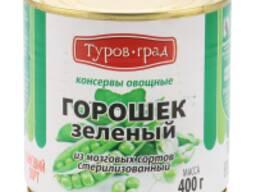 Консервированный горошек в/с м/б 400гр