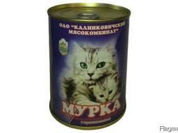 Консервы для кошек Калинковичского МК