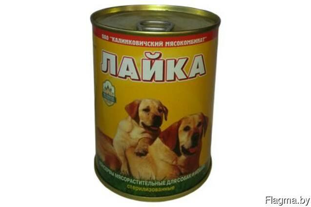 Консервы для собак Калинковичского МК