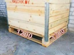 Контейнер деревянный 1200х1000х800 - фото 5