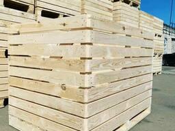 Контейнер деревянный для хранения и транспортировки овощей