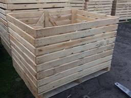 Контейнер деревянный для хранения овощей и фруктов