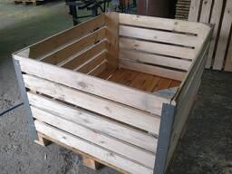Контейнер деревянный для яблок и другой продукции (ящик)
