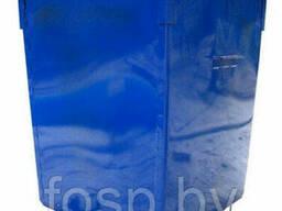 Контейнер для сбора ТБО без крышки, 0, 75 куб. м. Сталь 1. 5 мм