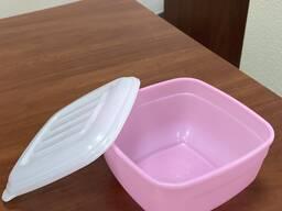 Контейнер пластиковый 1,2 л (для хранения) 100% полипропилен