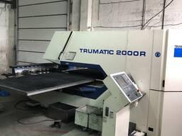 Координатно пробивной пресс Trumph Trumatic 2000R б/у