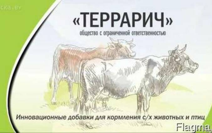 Кормовая добавка Адсорбент «Террарич-Бенто» для КРС, свиней,