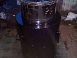 Кормозапарник с бачком из нержавеющей стали на 60 литров