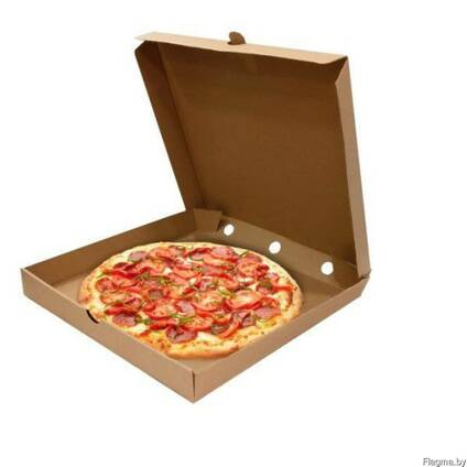 Коробка из гофрокартона для пиццы