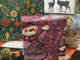 Коробки новогодние в ассортименте