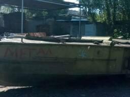Корпус катера Б М К-150 из дюралюминия