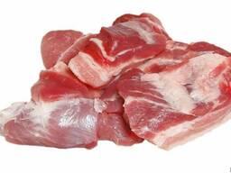 Котлетное мясо свиное (свинина полужирная)
