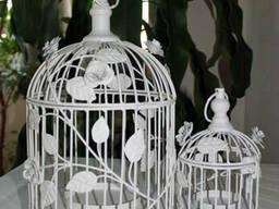 Кованные клетки для птиц