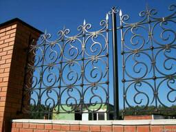 Кованый забор, ограждения с разным заполнением под ключ