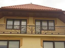 Кованые балконные перила в рассрочку