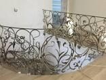 Кованые перила и лестницы - фото 7