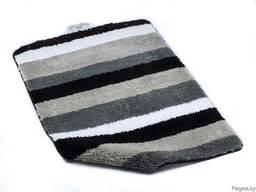 """Коврик для ванной текстильный серый """"Carl"""" 60*90 см"""