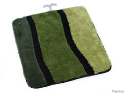 """Коврик для ванной текстильный зеленый """"Jolie"""" 55*50 см"""