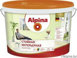Краска дисперсионная Alpina Стойкая интерьерная