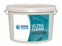 Краска для кухонь и ванных комнат Aquacolor Ultra Clean