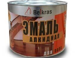 Краска эмаль для пола ПФ-266 «Белкрас» от 2,5 руб. за 1 кг.