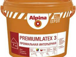 Краска интерьерная латексная Alpina Expert Premiumlatex 3