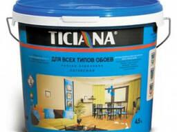 Краска латексная для всех типов обоев ticiana