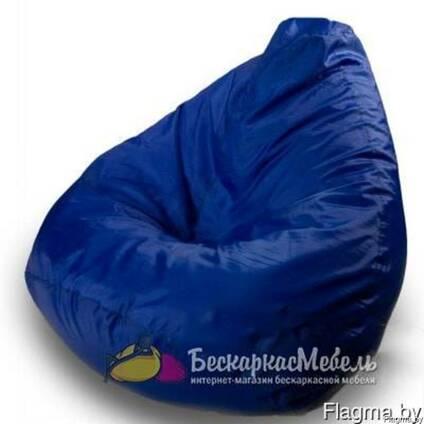 Кресло-груша Синяя Lite