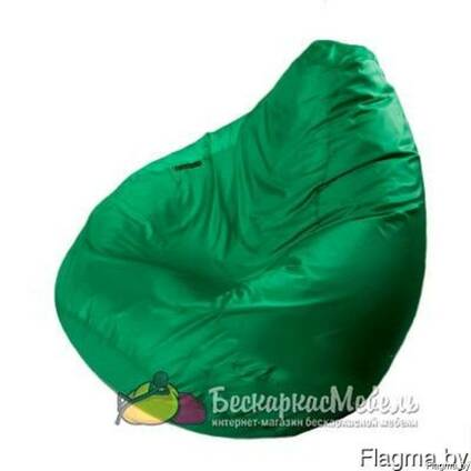 Кресло-груша Зеленое Lite