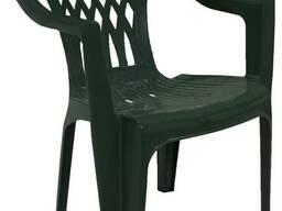 Кресло пластиковое, полимерное для дачи, сада