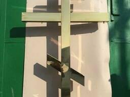 Кресты православные с напылением нитрид титана