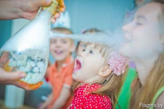 Крио-шоу на детский праздник, игры, квесты у вас дома