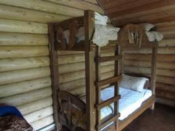 Кровати из дерева под заказ.